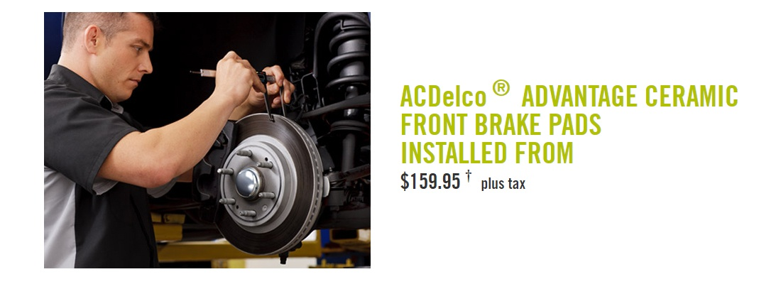 car brake promo