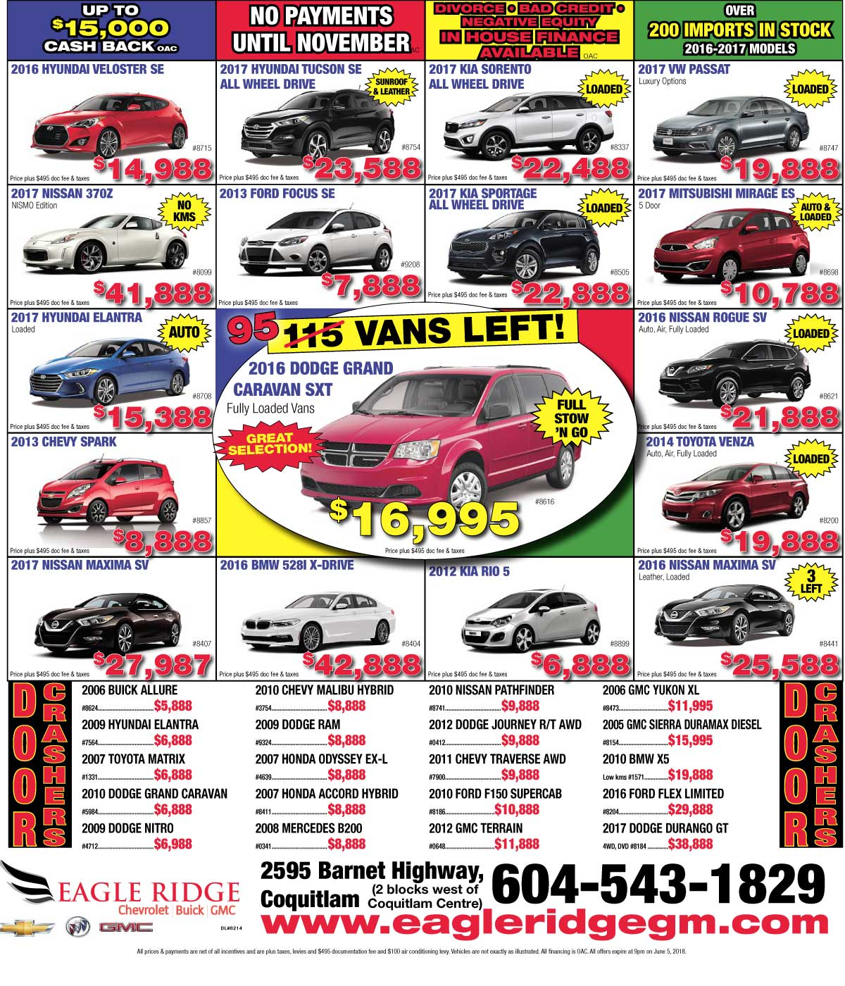 June Newspaper Ad – Used