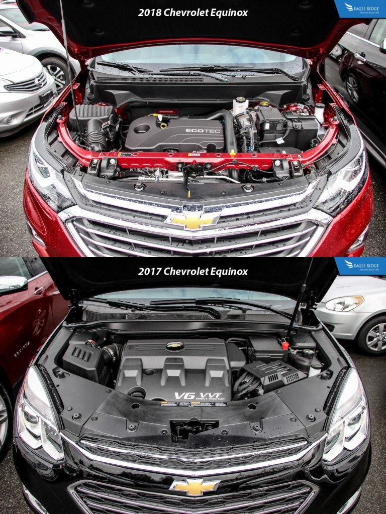 COMPARISON: 2018 CHEVROLET EQUINOX VS 2017 CHEVROLET EQUINOX - Eagle