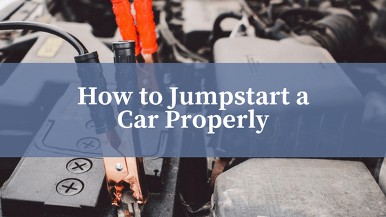 how to jumpstart a car properly
