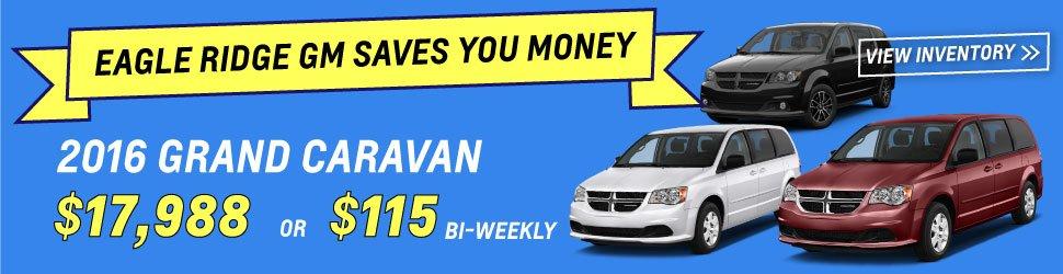 Grand Caravans From $17,995