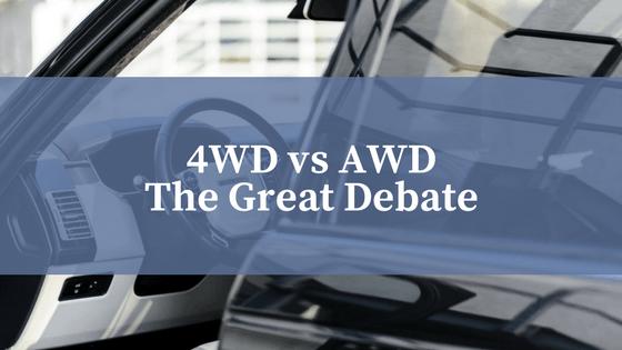 4WD vs AWD- The Great Debate