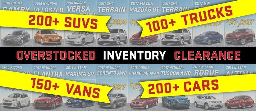 overstocked sale