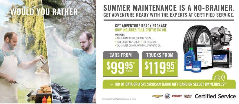 certified summer service offer