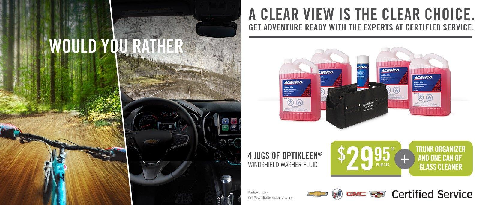 OptiKleen Window Washer Fluid
