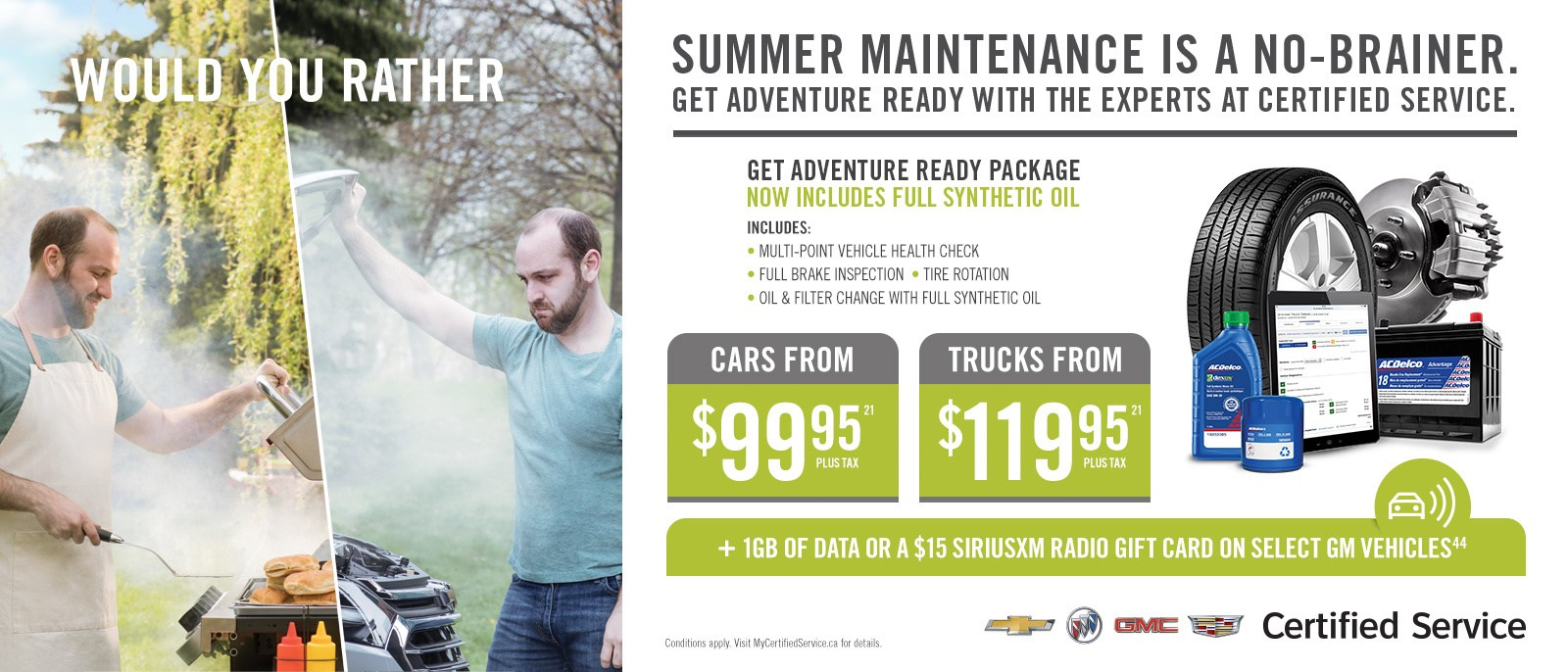 Summer Maintenance Offer