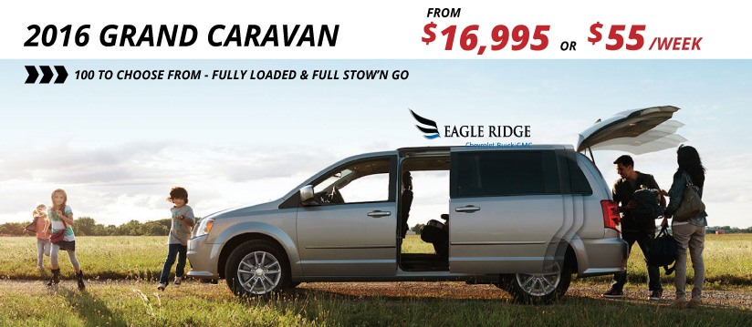 Grand Caravans From $16,995
