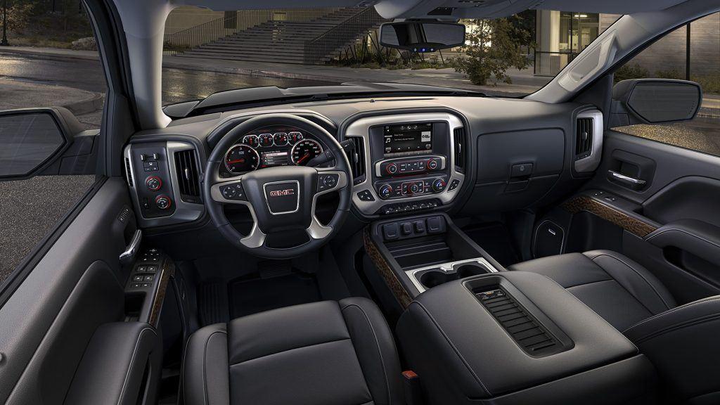 Sierra SLT interior