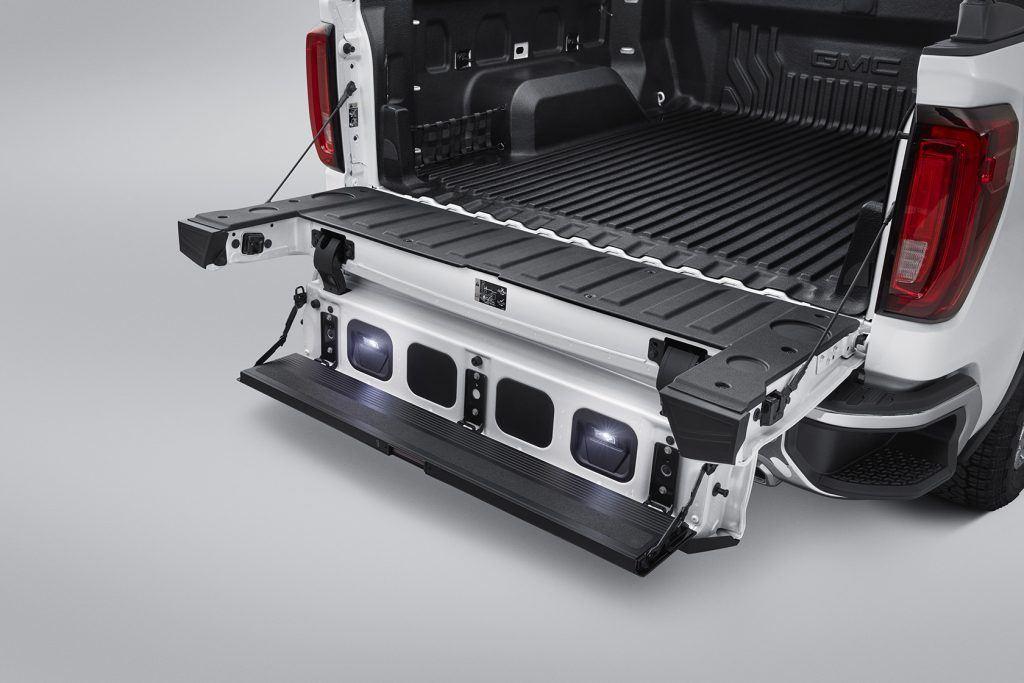 2019 gmc sierra tailgate