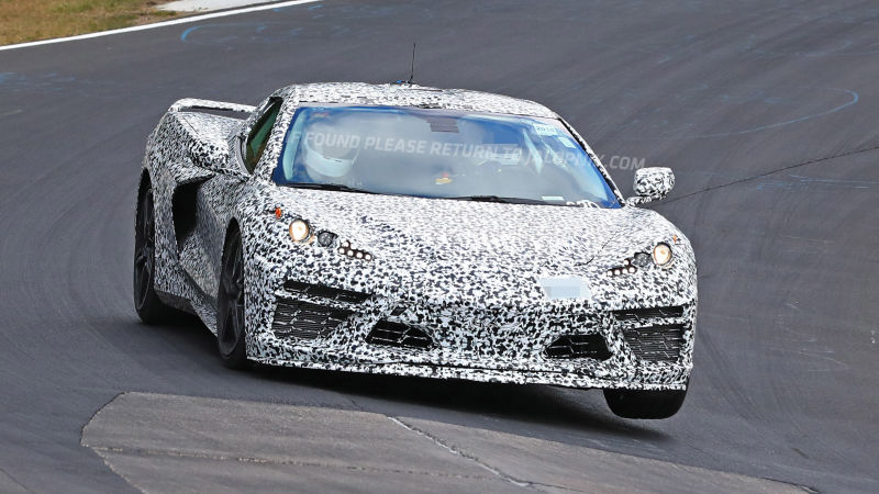 2020 Chevrolet Corvette (C8) Latest Spy Shots & Video - Eagle Ridge GM