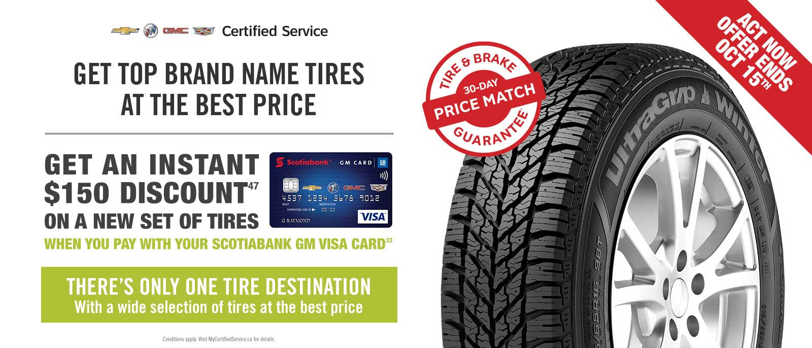 winter tires offer