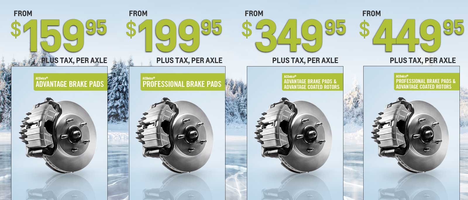 Brakes Winter Offer