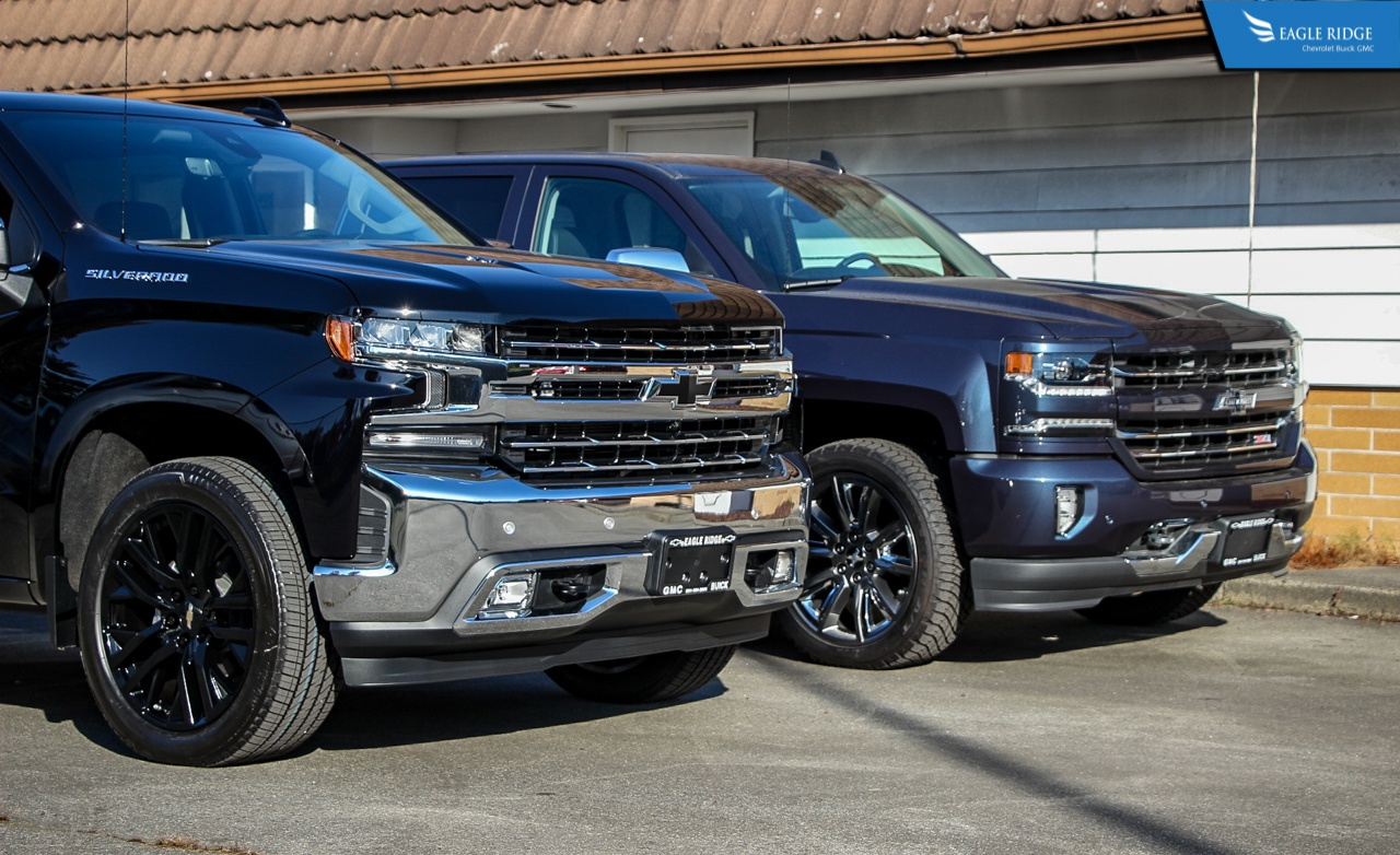 Comparison: 2019 vs 2018 Chevrolet Silverado 1500 - Eagle ...