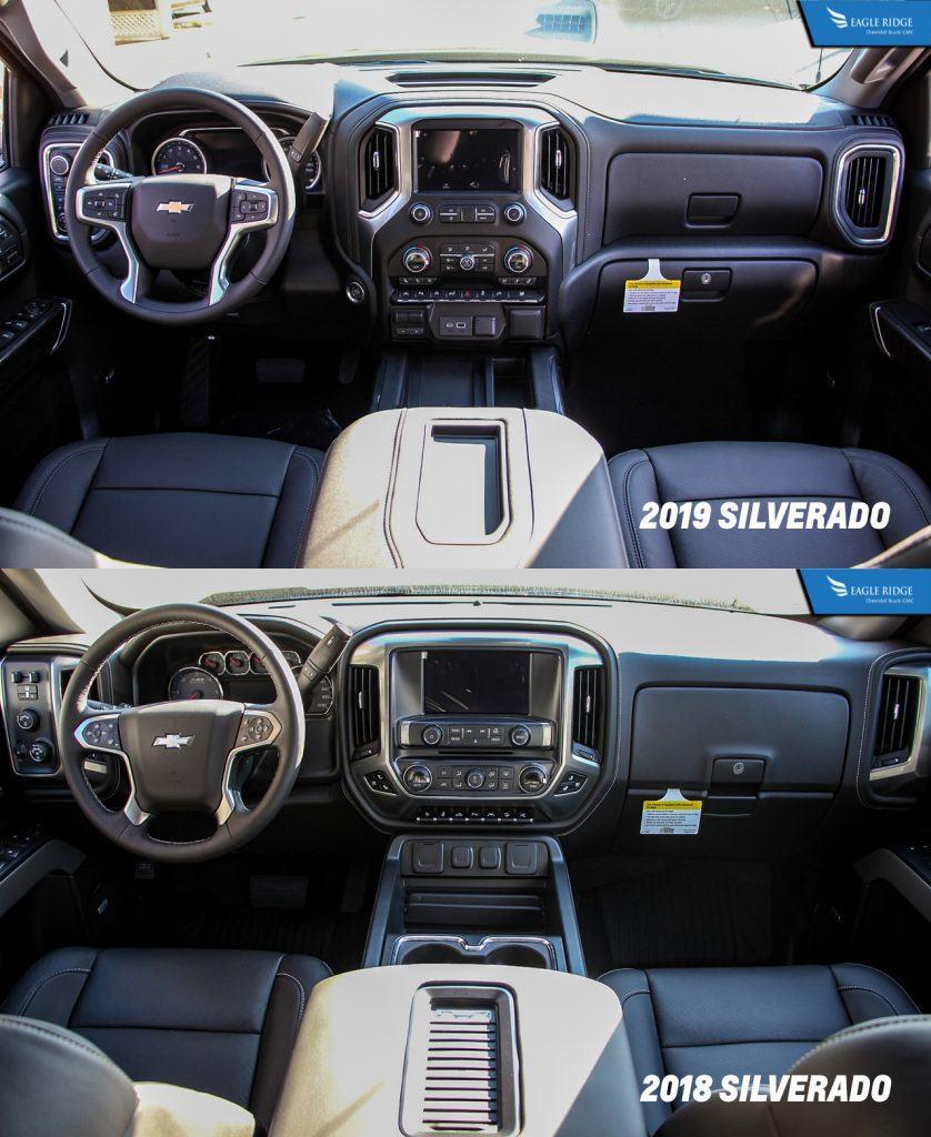Comparison: 2019 vs 2018 Chevrolet Silverado 1500 - Eagle ...