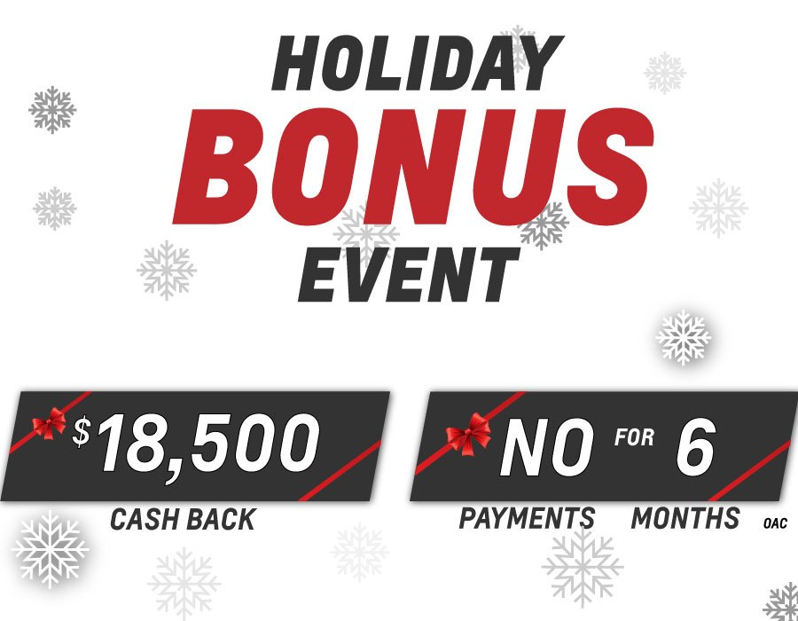 Holiday Bonus Event