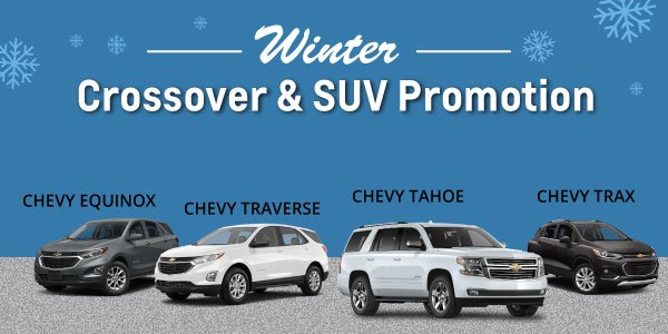 chevy suv offer