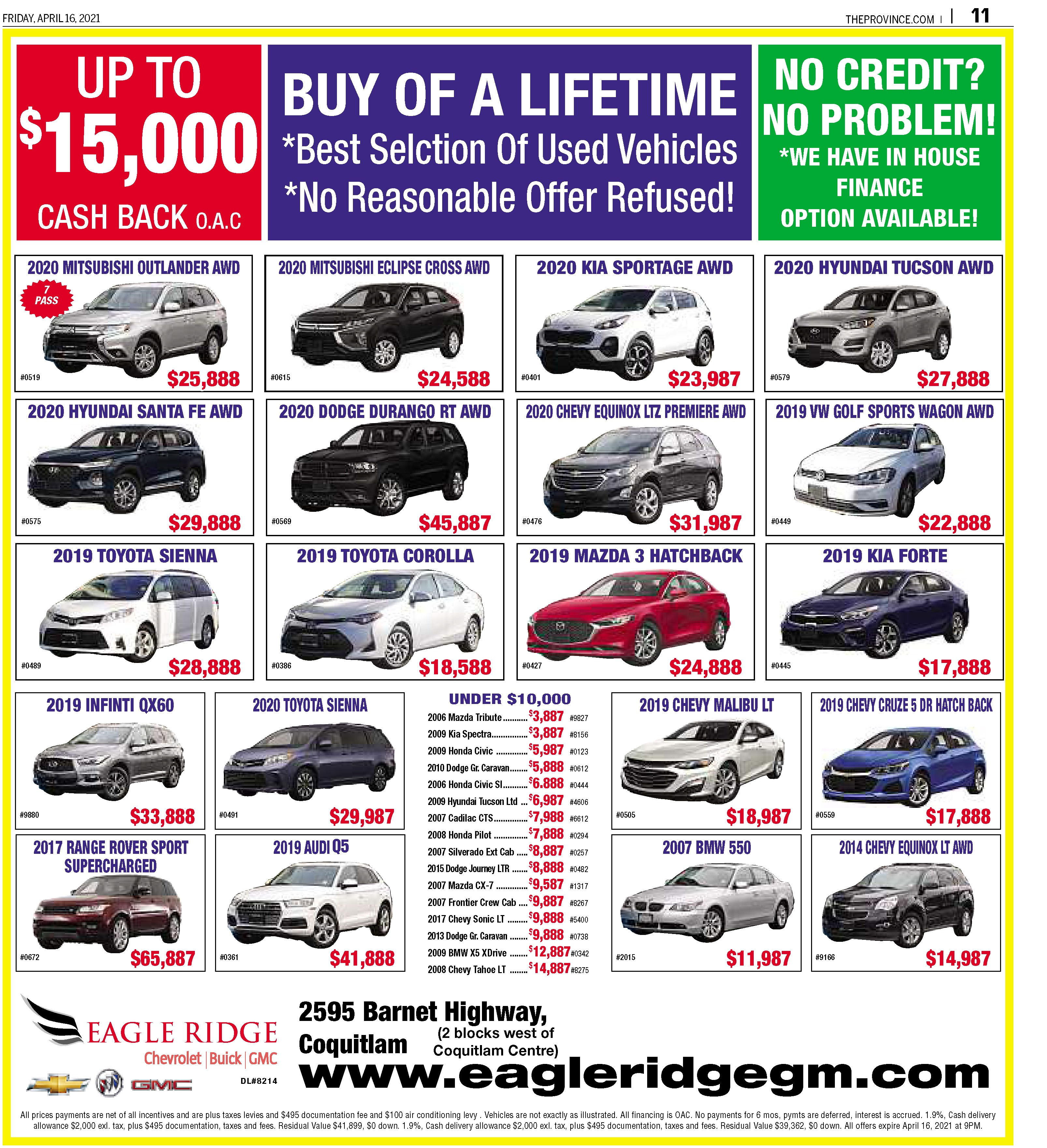 Imports/Trucks/Vans/SUVs/Cars on Sale