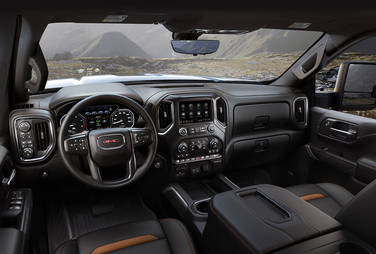 2020 GMC Sierra HD AT4 Interior