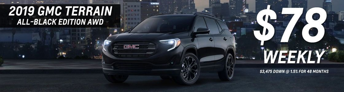 GMC Terrain $78/Week