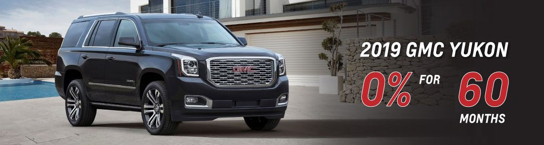 0% for 60 on 2019 Yukon