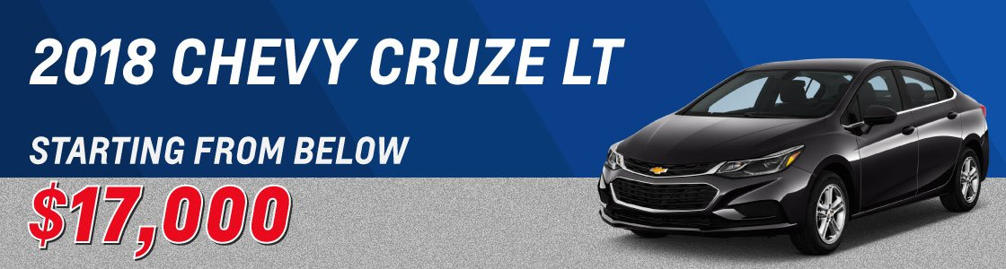 used chevy cruze on sale