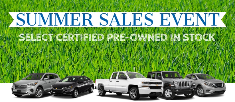 used vehicle sale