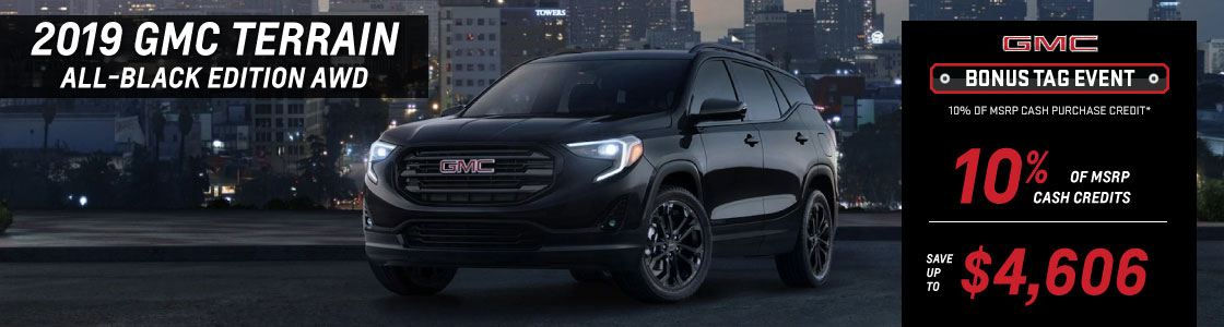 10% OFF 2019 GMC Terrain