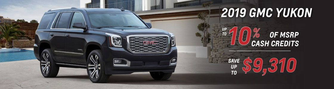10% OFF 2019 GMC YUKON
