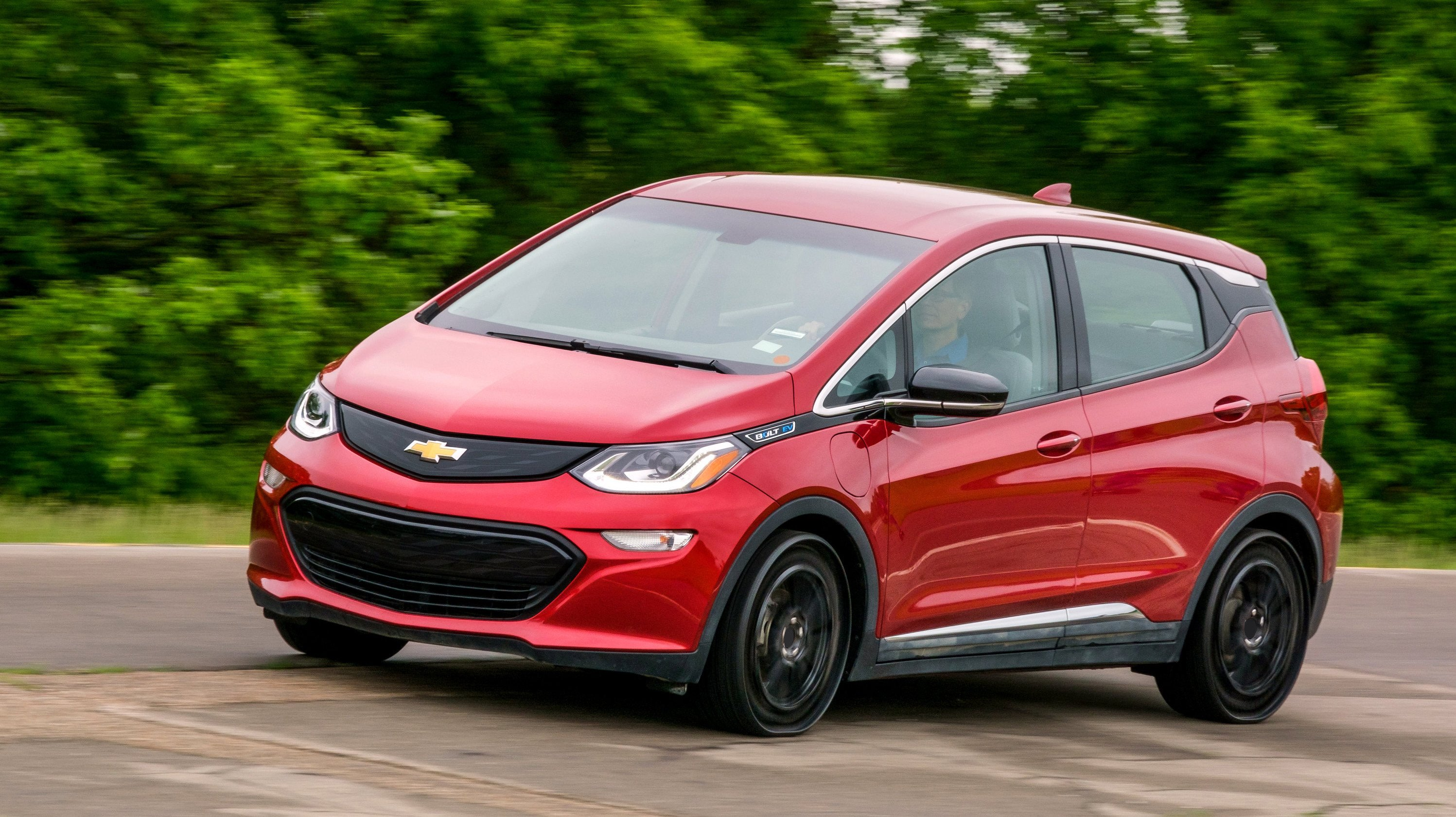 Chevrolet bolt with Michelin tweel tires