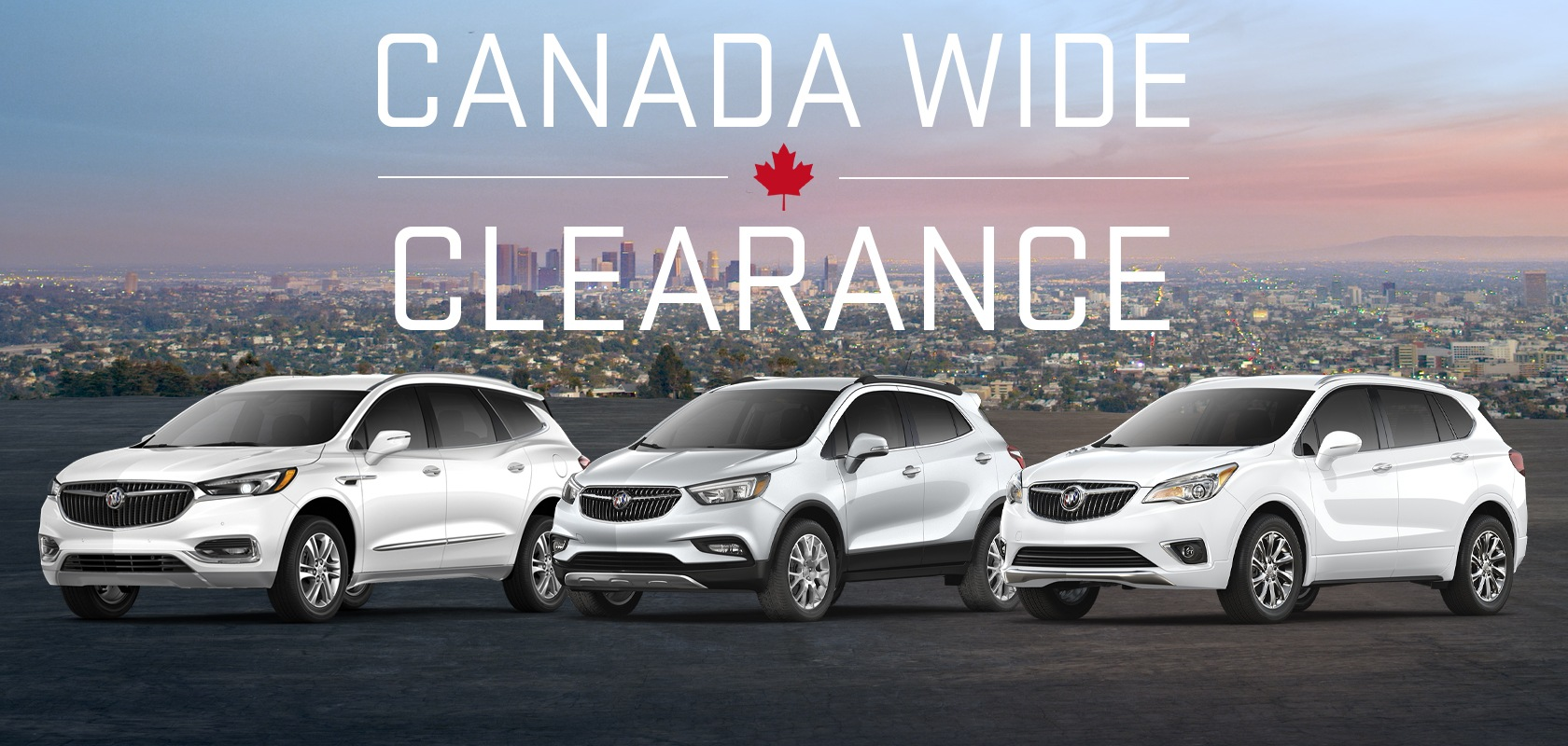 Canada Wide Clearance on Buick