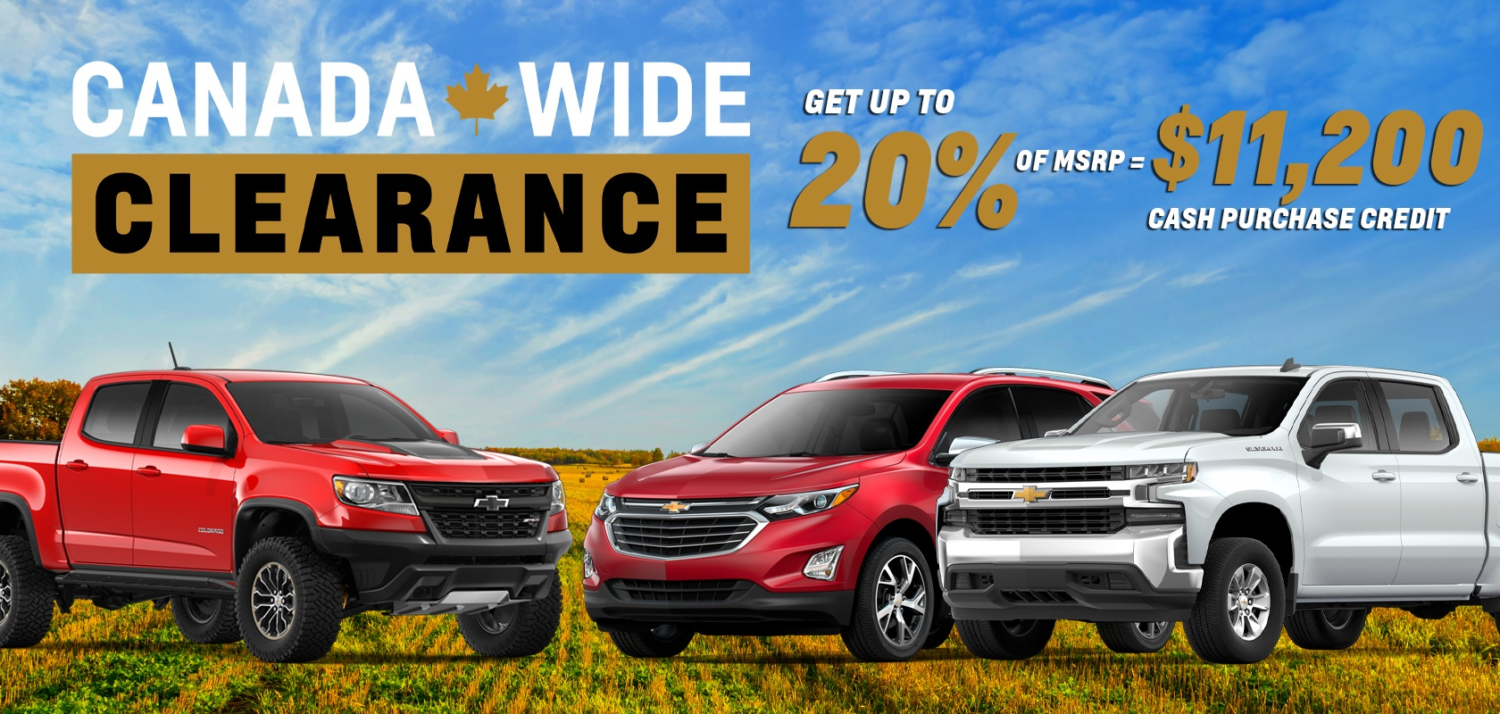 Chevy Sep 2019 Promo