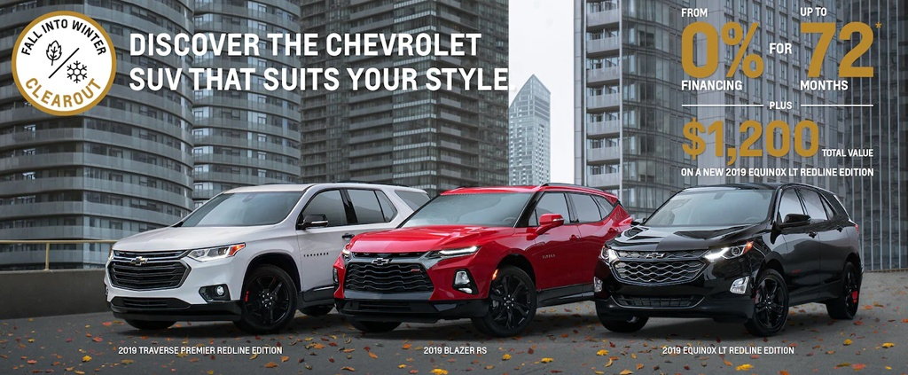 Fall Into Winter Clearout on Chevrolet