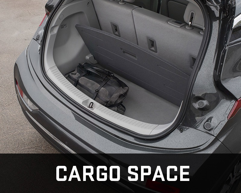 Chevrolet Bolt cargo space