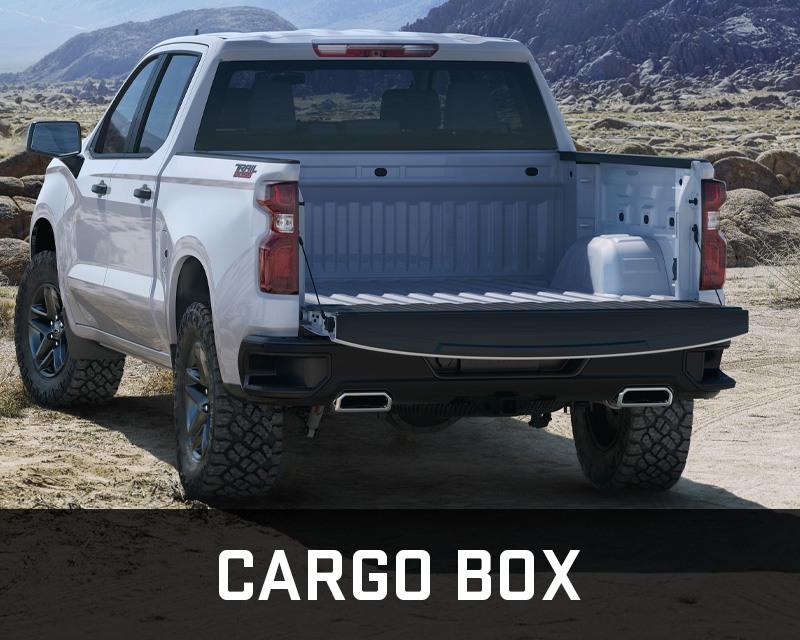 Chevrolet Silverado 1500 cargo box