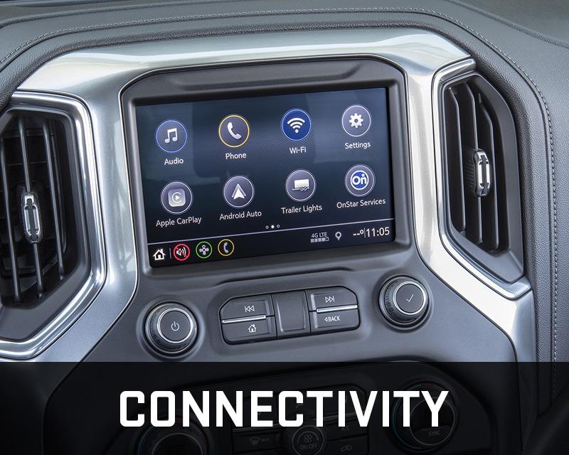 Chevrolet Silverado 1500 connectivity