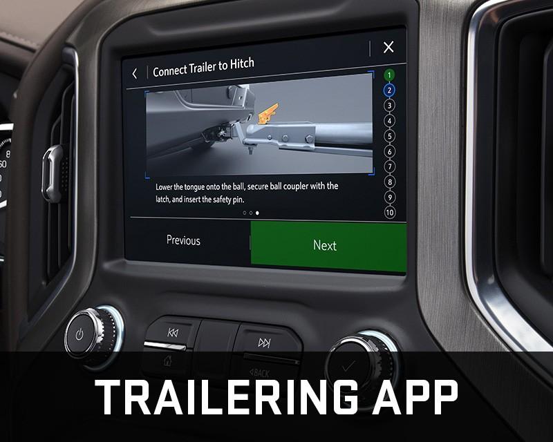 Chevrolet Silverado 1500 trailering app
