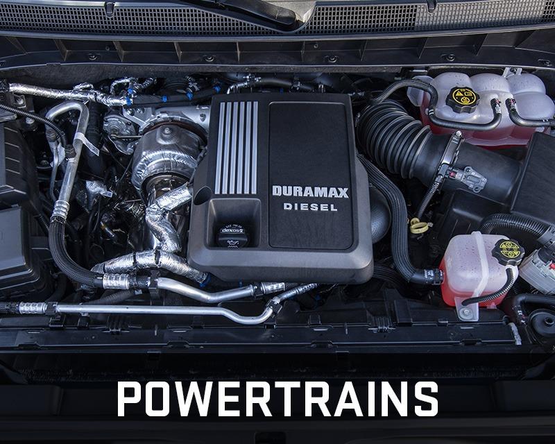 Chevrolet Silverado 1500 powertrains