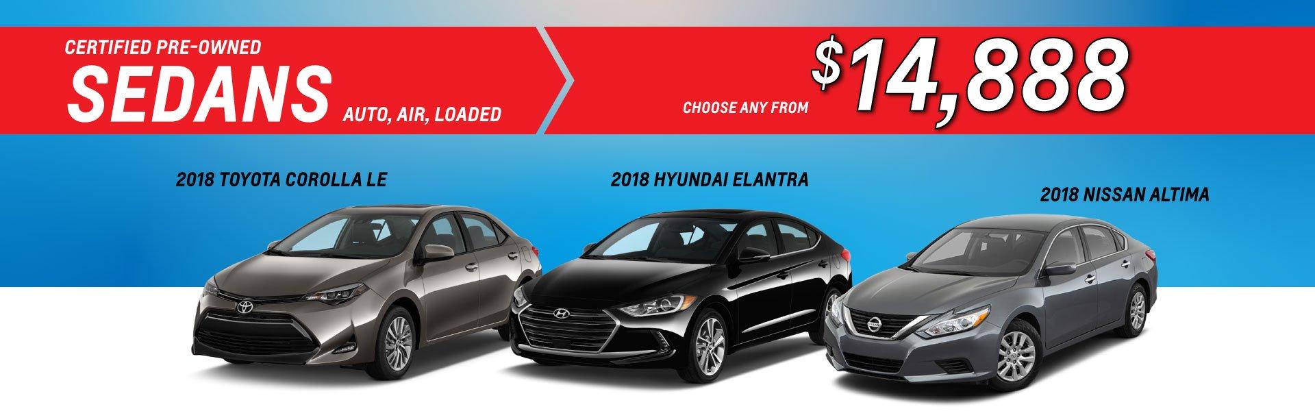 Used Sedans Cost Less at Eagle Ridge GM