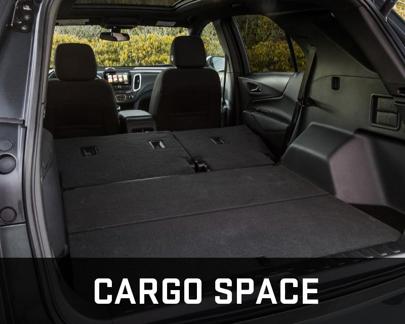 equinox cargo space
