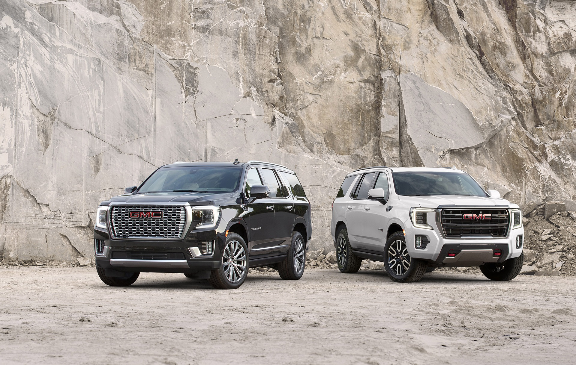 2021 GMC Yukon Denali and AT4