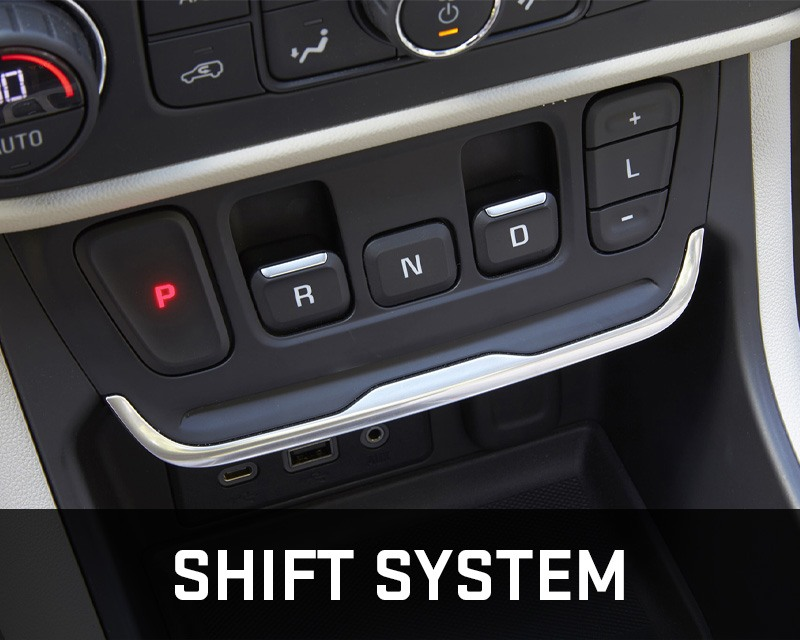 GMC Terrain shift system