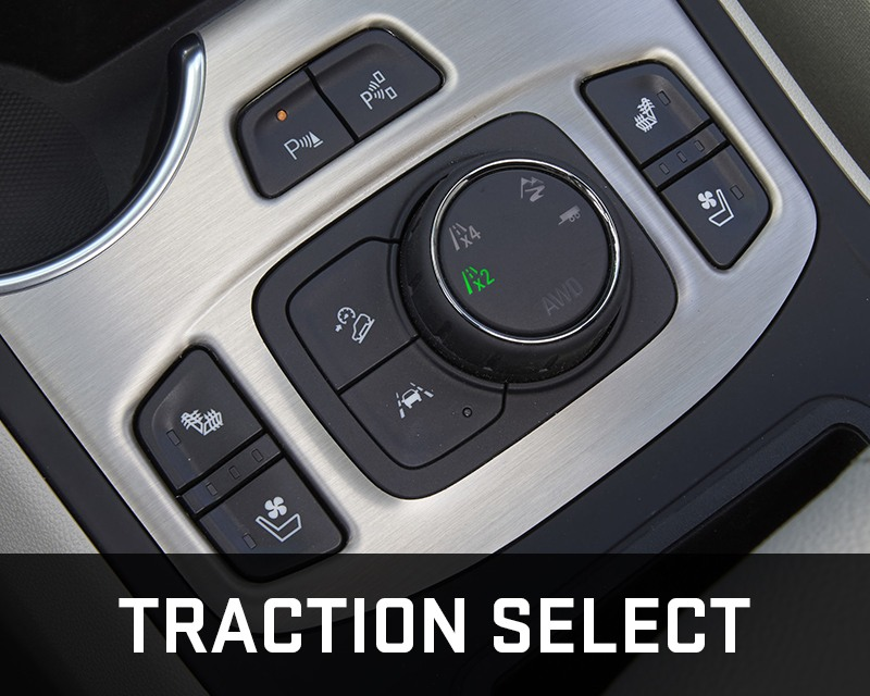 GMC Terrain traction select