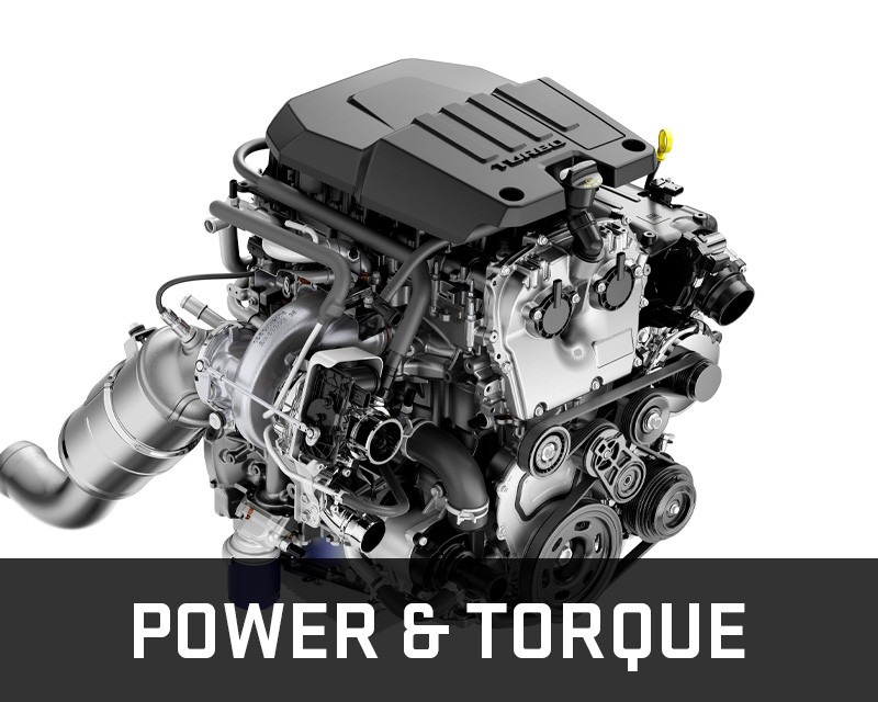 2.7L turbo power & torque
