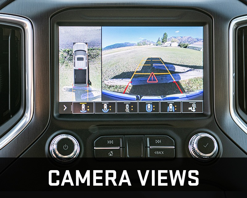 gmc sierra hd camera views