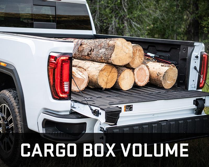 gmc sierra hd cargobox volume