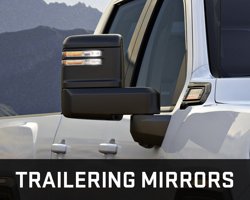 gmc sierra trailering mirrors