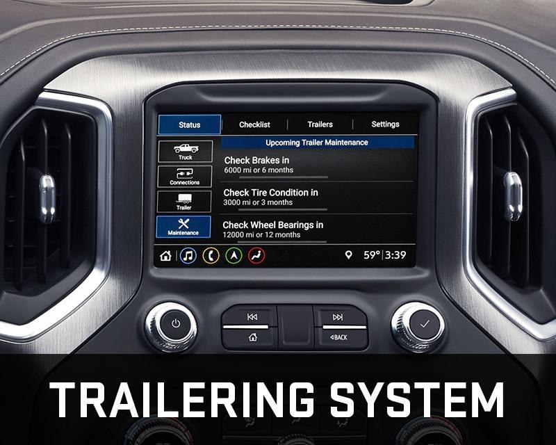 gmc sierra trailering system