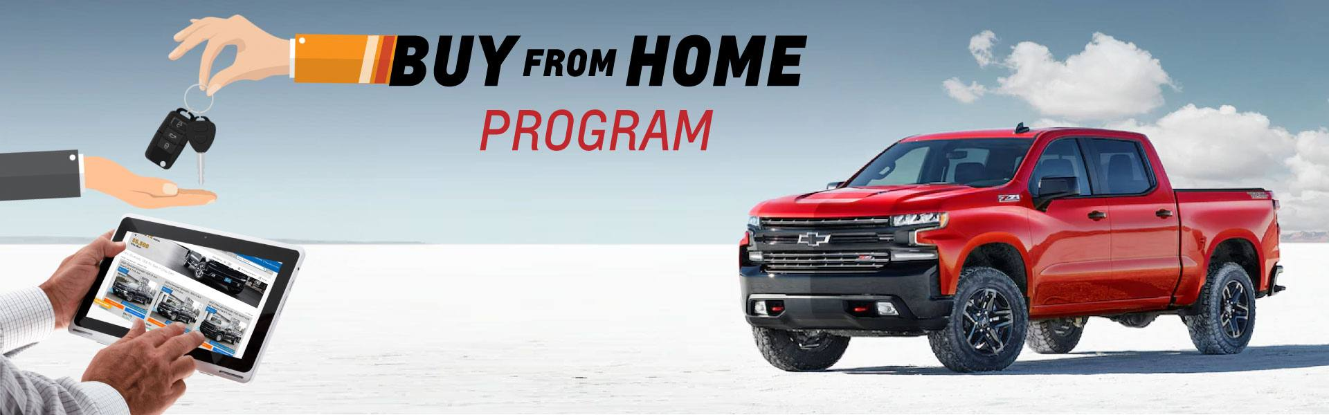 buy from home program