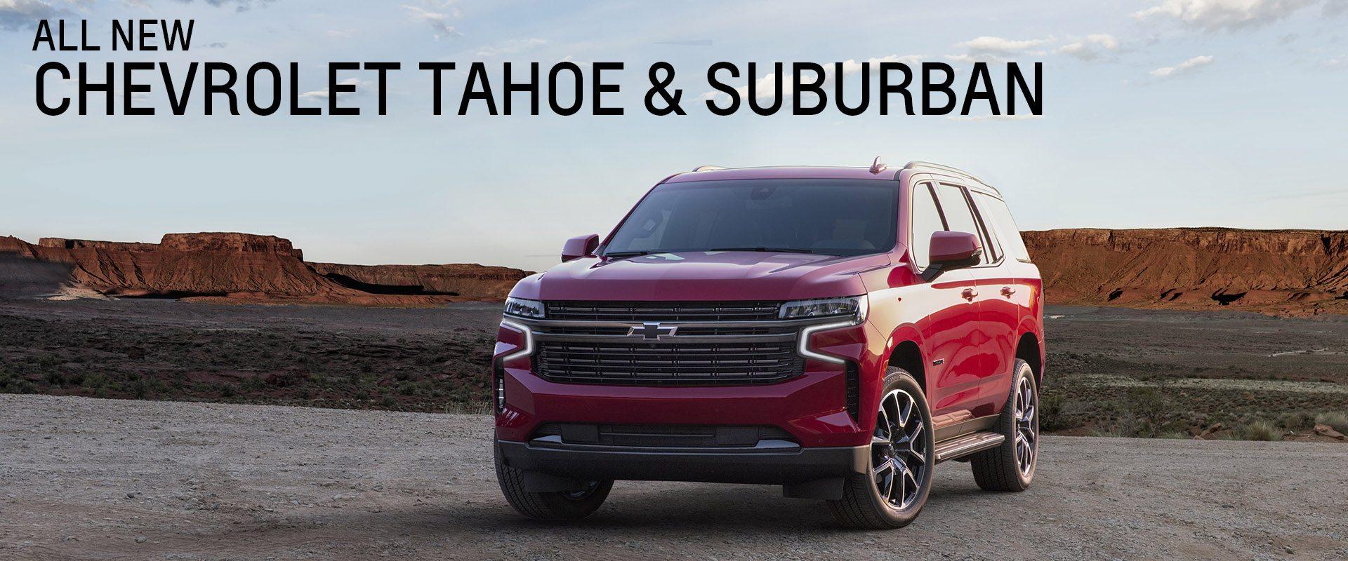 2021 Chevrolet Tahoe/Suburban