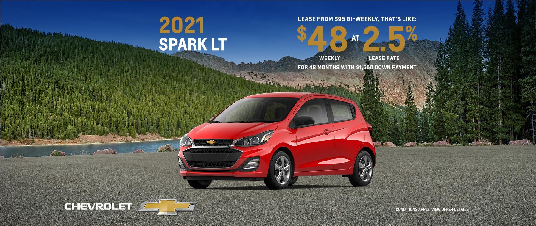 2021 Chevrolet Spark LT